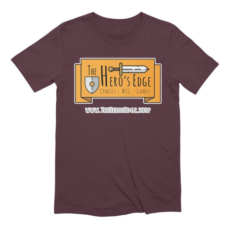 The Hero's Edge Website Banner Men's Extra Soft T-Shirt by The Hero's Edge