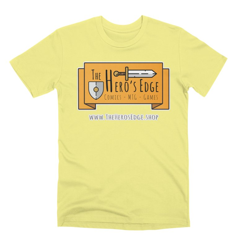 The Hero's Edge Website Banner Men's Premium T-Shirt by The Hero's Edge