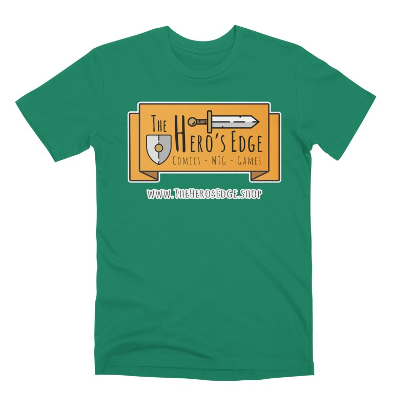 The Hero's Edge Website Banner Men's Premium T-Shirt by The Hero's Edge