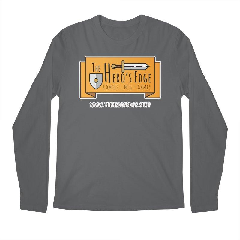 The Hero's Edge Website Banner Men's Regular Longsleeve T-Shirt by The Hero's Edge