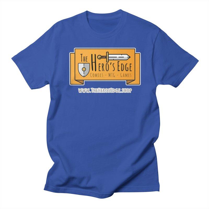 The Hero's Edge Website Banner Men's Regular T-Shirt by The Hero's Edge