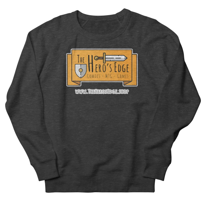 The Hero's Edge Website Banner Men's French Terry Sweatshirt by The Hero's Edge