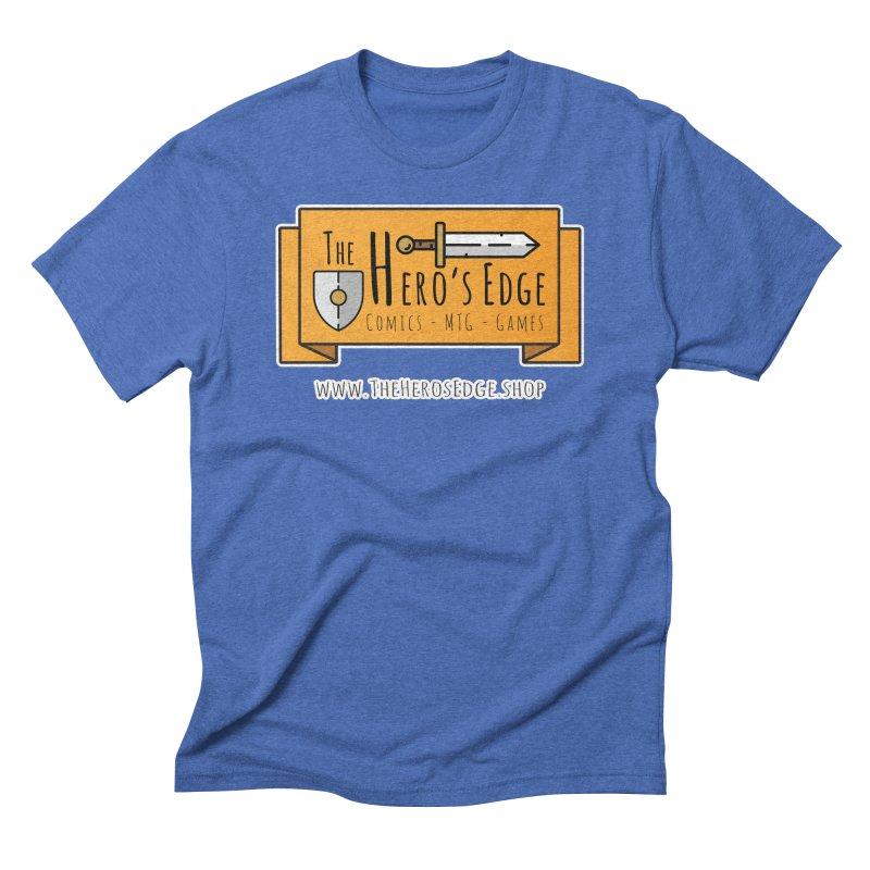 The Hero's Edge Website Banner Men's Triblend T-Shirt by The Hero's Edge
