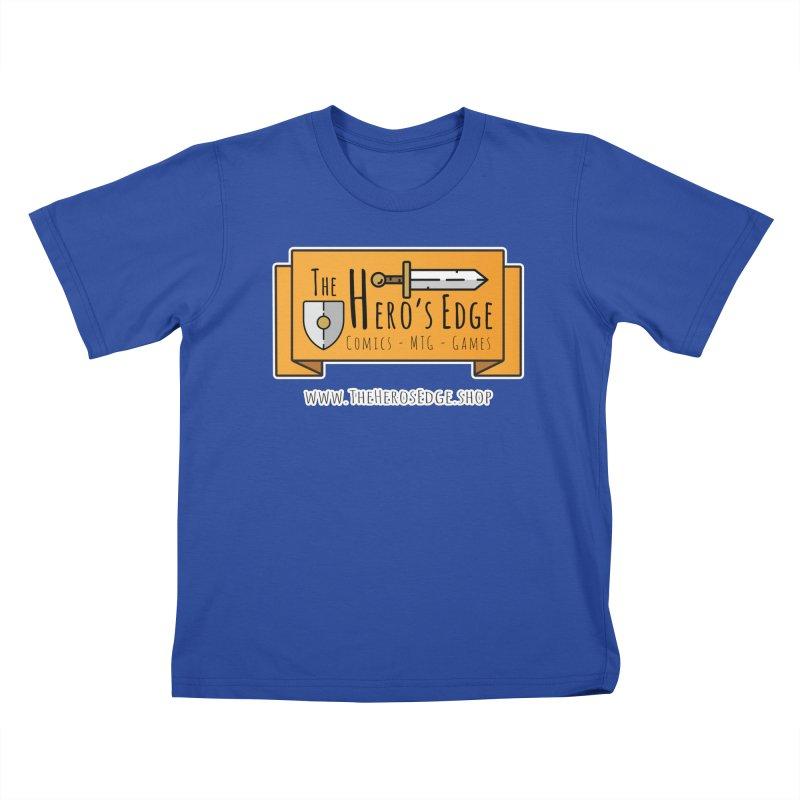 The Hero's Edge Website Banner Kids T-Shirt by The Hero's Edge