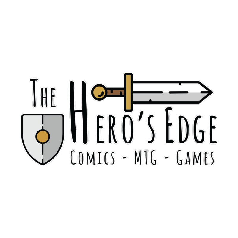 The Hero's Edge Logo Dark on Light Men's T-Shirt by The Hero's Edge