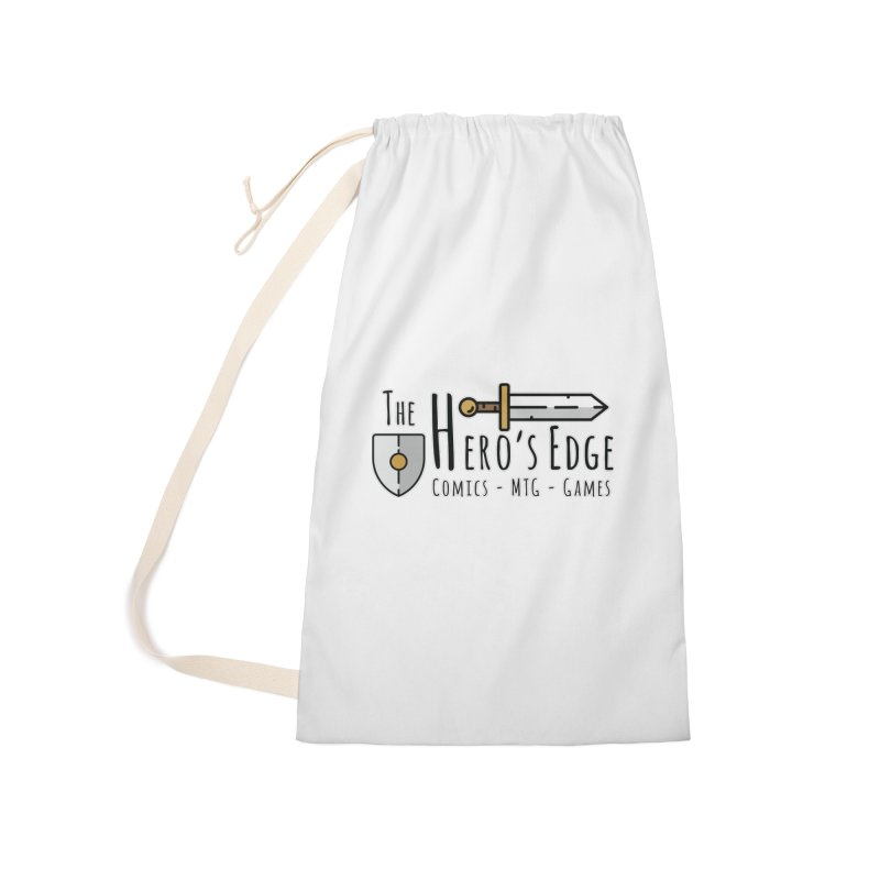 The Hero's Edge Logo Dark on Light Accessories Laundry Bag Bag by The Hero's Edge