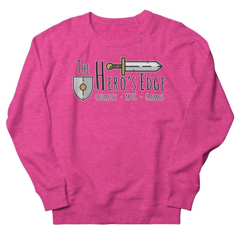 The Hero's Edge Logo Dark on Light Women's French Terry Sweatshirt by The Hero's Edge