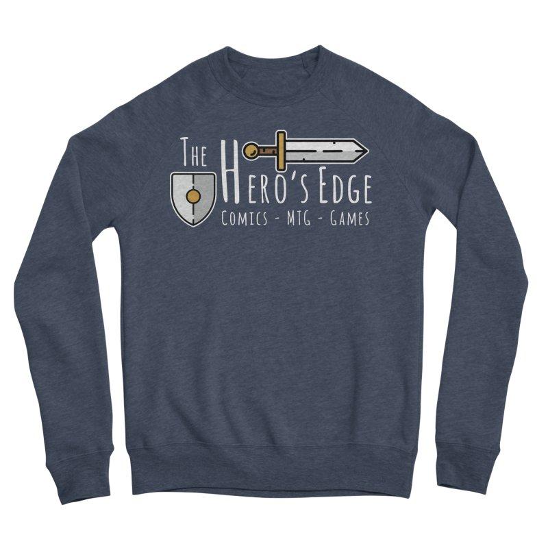 The Hero's Edge Logo Light on Dark Men's Sponge Fleece Sweatshirt by The Hero's Edge