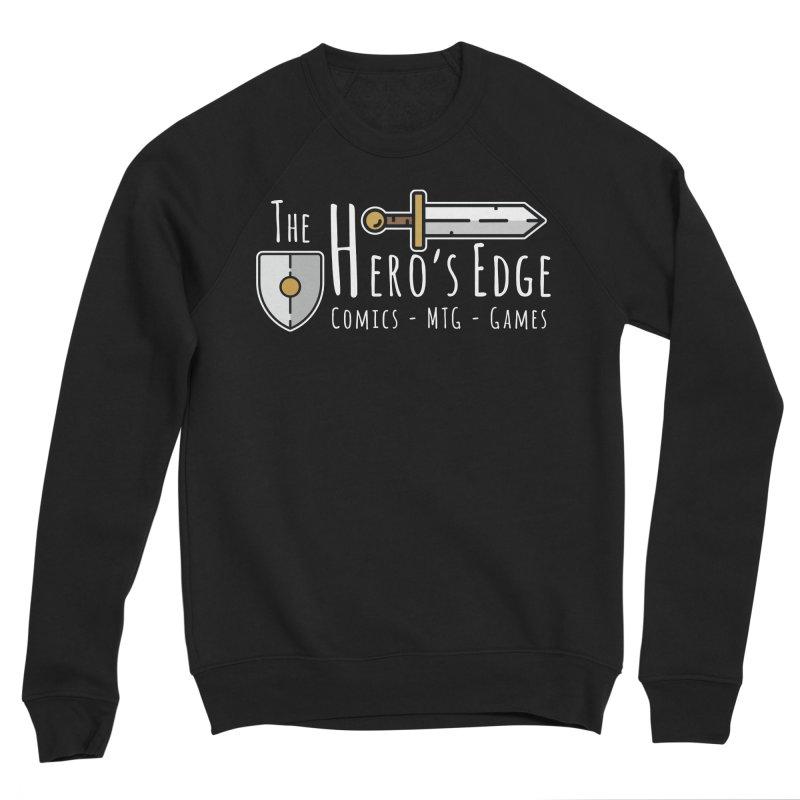The Hero's Edge Logo Light on Dark Women's Sponge Fleece Sweatshirt by The Hero's Edge