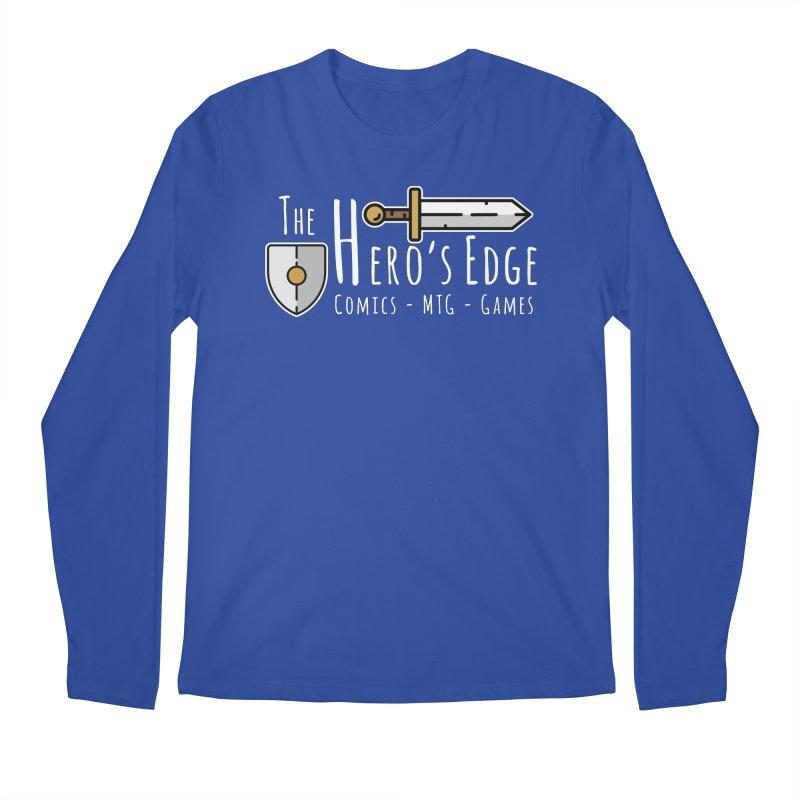 The Hero's Edge Logo Light on Dark Men's Regular Longsleeve T-Shirt by The Hero's Edge