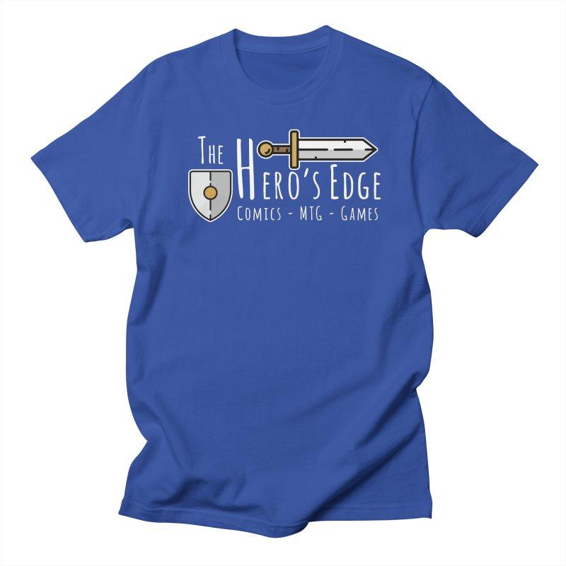 The Hero's Edge Logo Light on Dark Women's Regular Unisex T-Shirt by The Hero's Edge