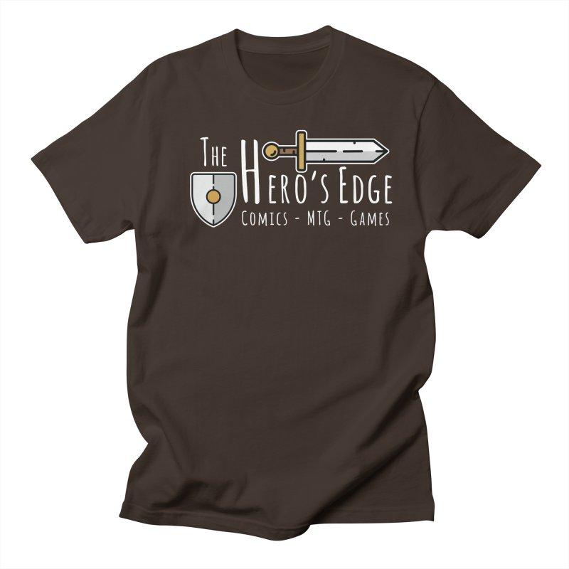The Hero's Edge Logo Light on Dark Men's Regular T-Shirt by The Hero's Edge