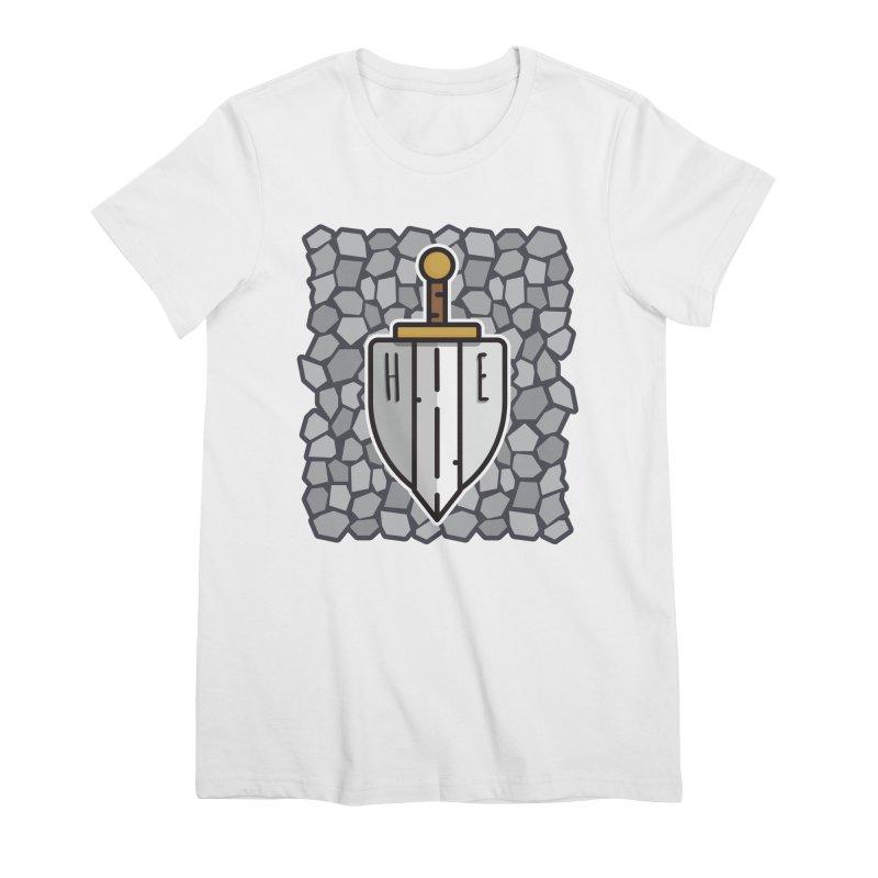 The Hero's Edge Stonewall Women's Premium T-Shirt by The Hero's Edge