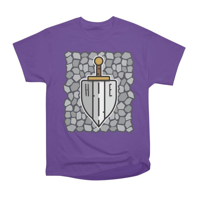 The Hero's Edge Stonewall Men's Heavyweight T-Shirt by The Hero's Edge
