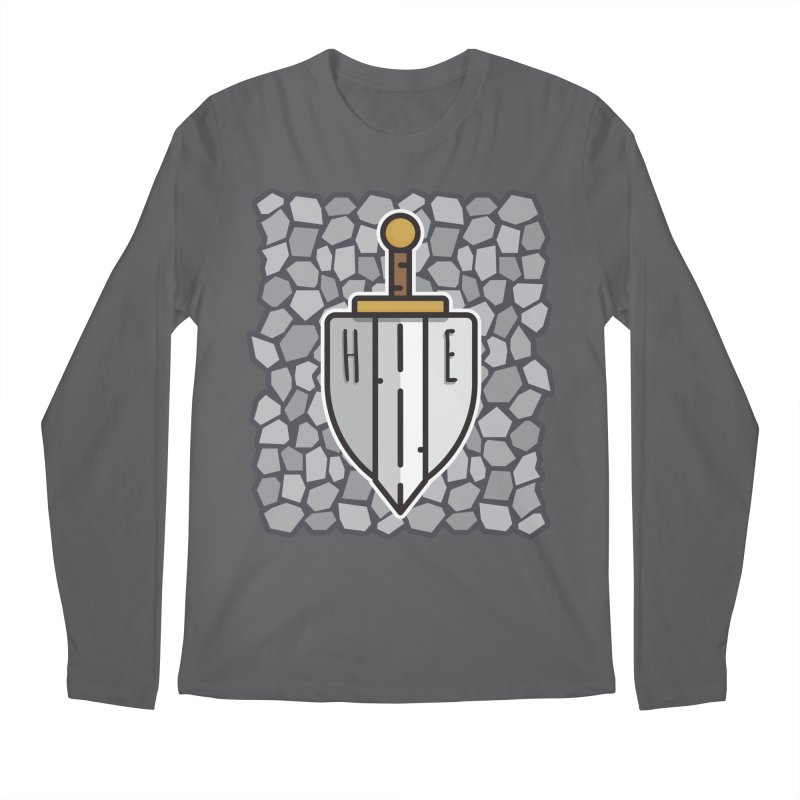 The Hero's Edge Stonewall Men's Regular Longsleeve T-Shirt by The Hero's Edge