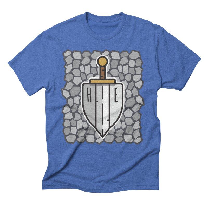 The Hero's Edge Stonewall Men's Triblend T-Shirt by The Hero's Edge