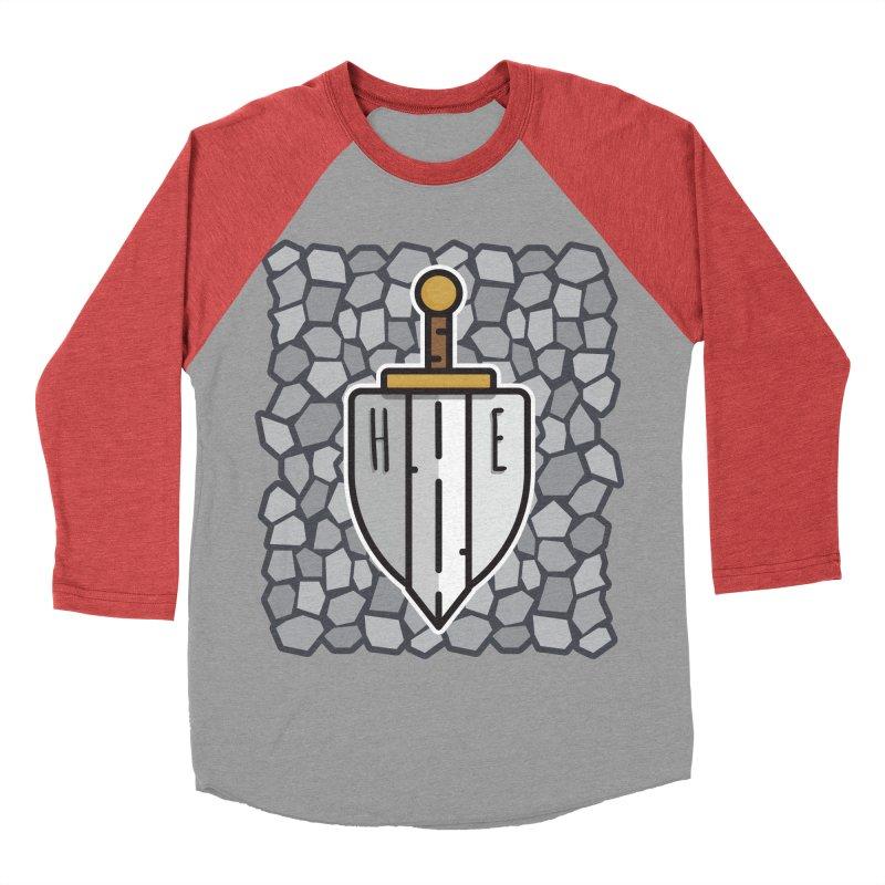 The Hero's Edge Stonewall Men's Baseball Triblend Longsleeve T-Shirt by The Hero's Edge