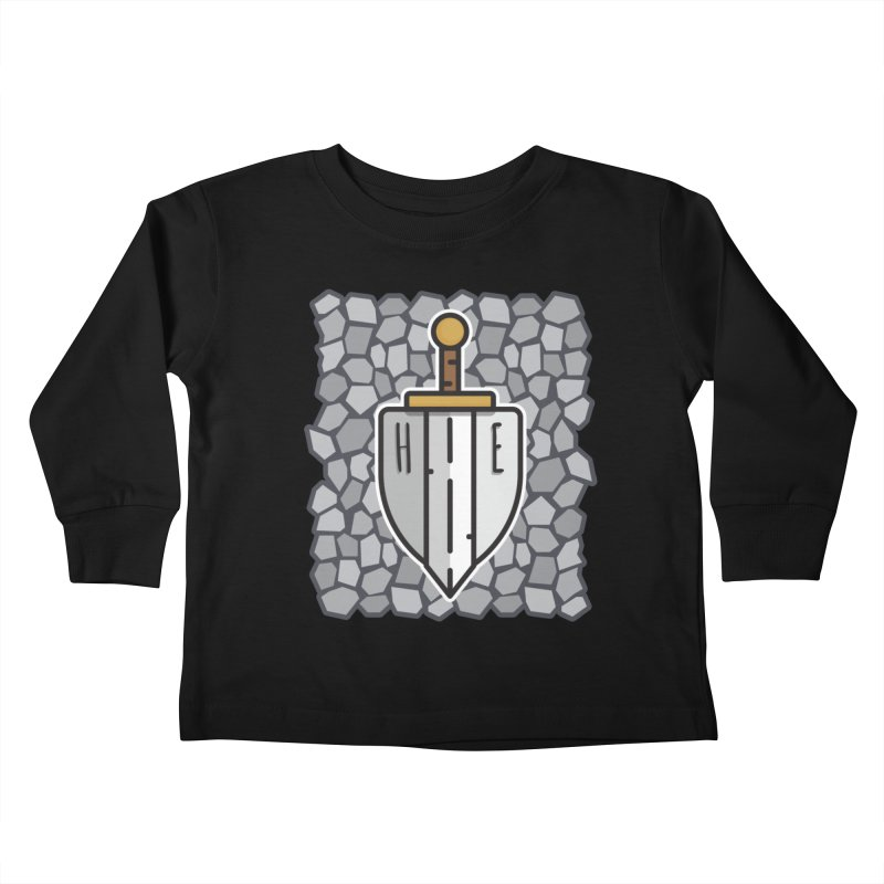 The Hero's Edge Stonewall Kids Toddler Longsleeve T-Shirt by The Hero's Edge