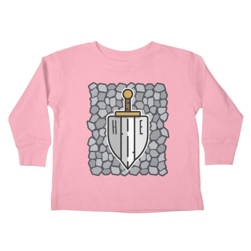The Hero's Edge Stonewall Kids Toddler Longsleeve T-Shirt by The Hero's Edge