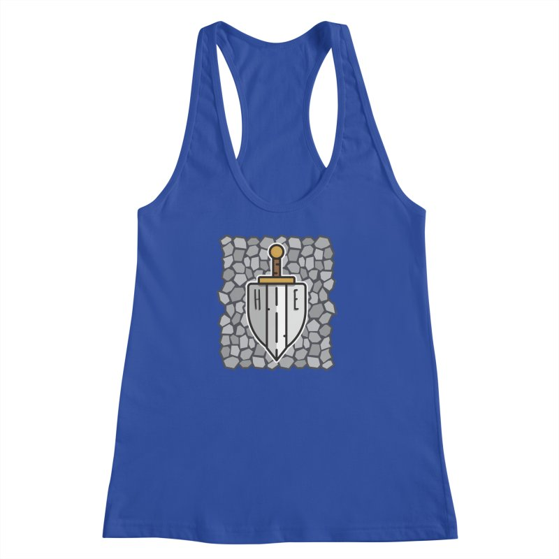 The Hero's Edge Stonewall Women's Racerback Tank by The Hero's Edge