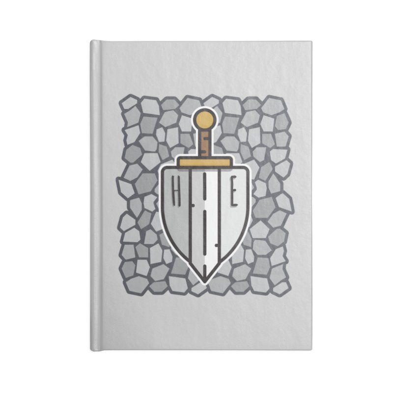 The Hero's Edge Stonewall Accessories Lined Journal Notebook by The Hero's Edge