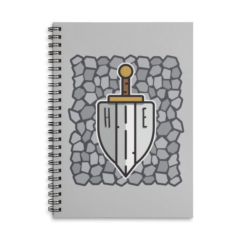 The Hero's Edge Stonewall Accessories Lined Spiral Notebook by The Hero's Edge