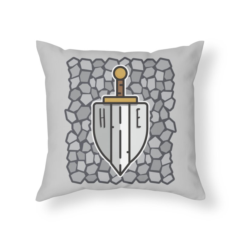 The Hero's Edge Stonewall Home Throw Pillow by The Hero's Edge
