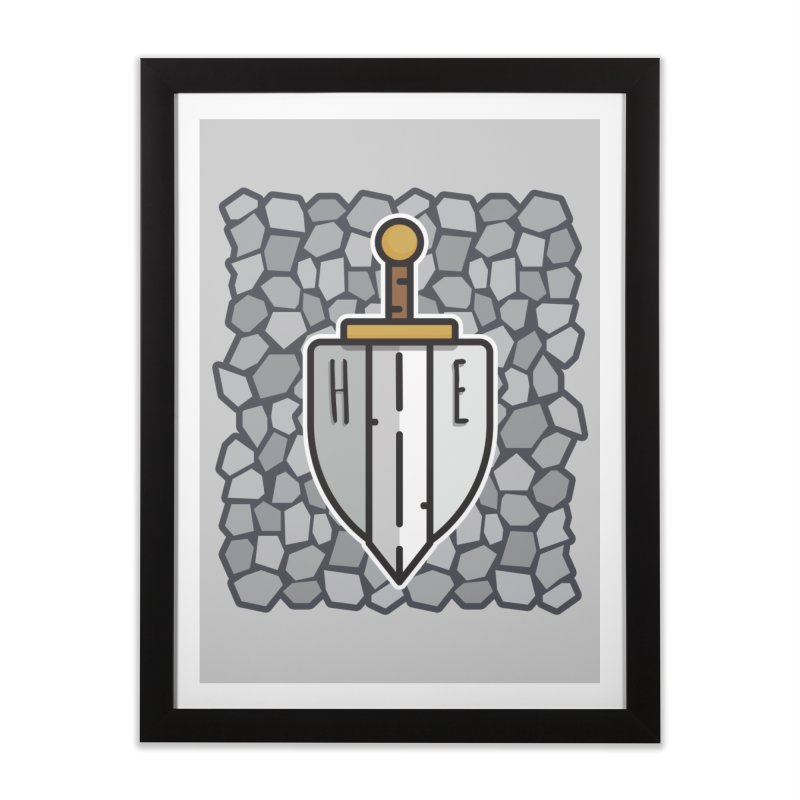 The Hero's Edge Stonewall Home Framed Fine Art Print by The Hero's Edge