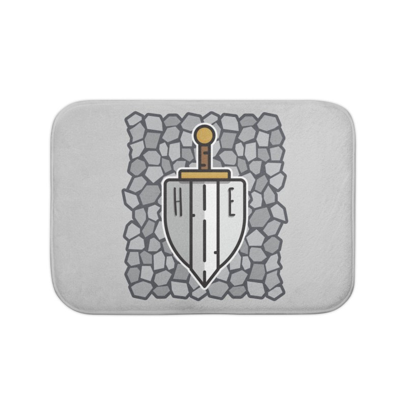 The Hero's Edge Stonewall Home Bath Mat by The Hero's Edge