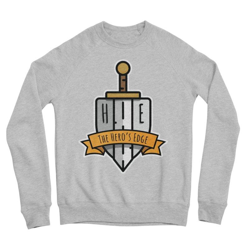The Hero's Edge Sword & Shield Shop Name Men's Sponge Fleece Sweatshirt by The Hero's Edge