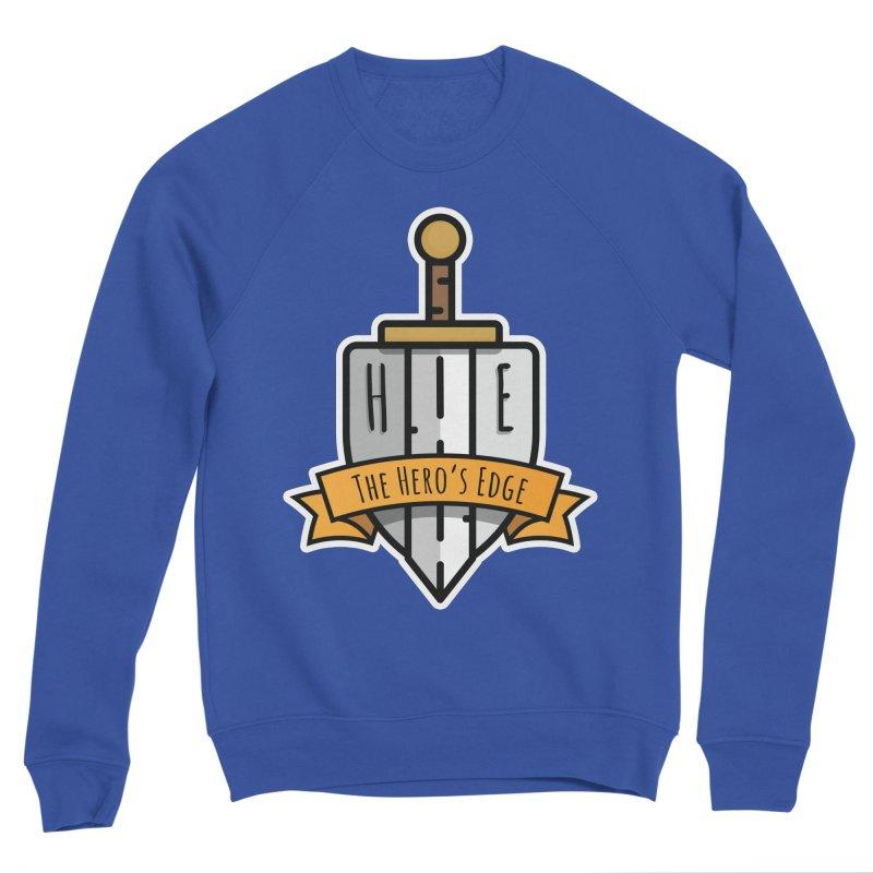 The Hero's Edge Sword & Shield Shop Name Women's Sponge Fleece Sweatshirt by The Hero's Edge