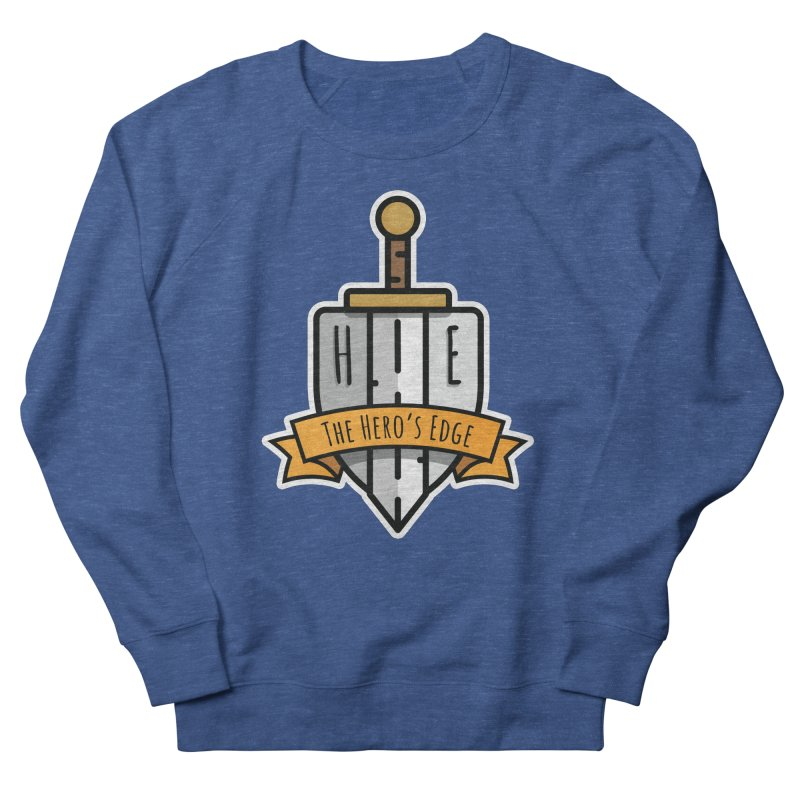The Hero's Edge Sword & Shield Shop Name Women's French Terry Sweatshirt by The Hero's Edge