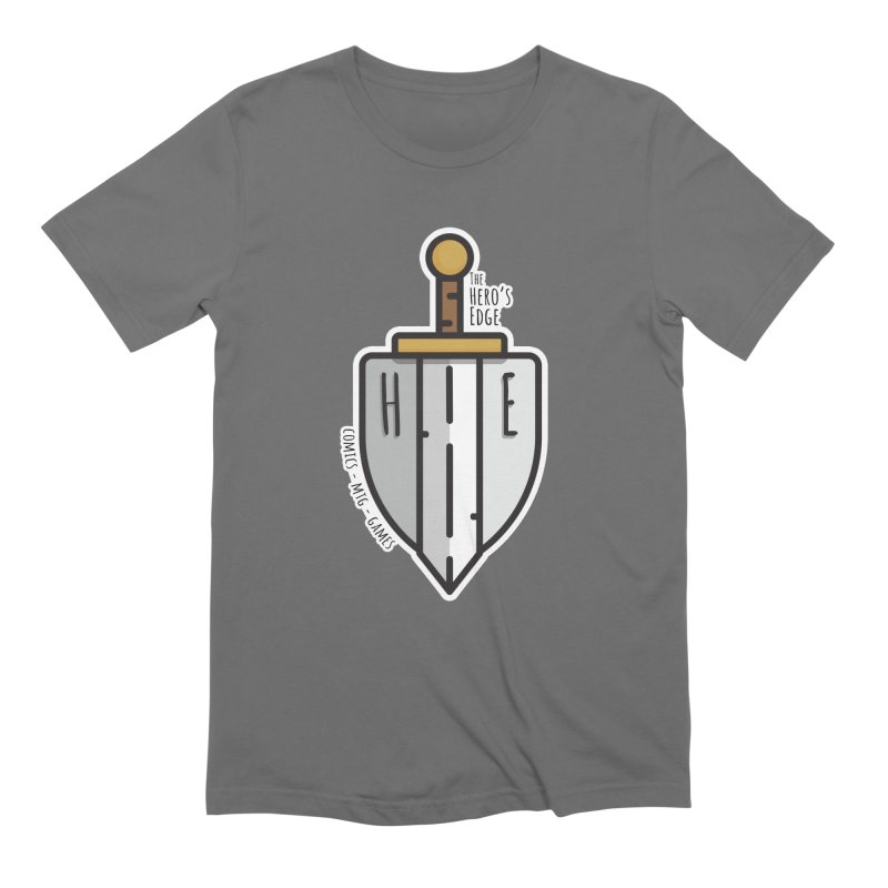 The Hero's Edge Sword & Shield Men's T-Shirt by The Hero's Edge