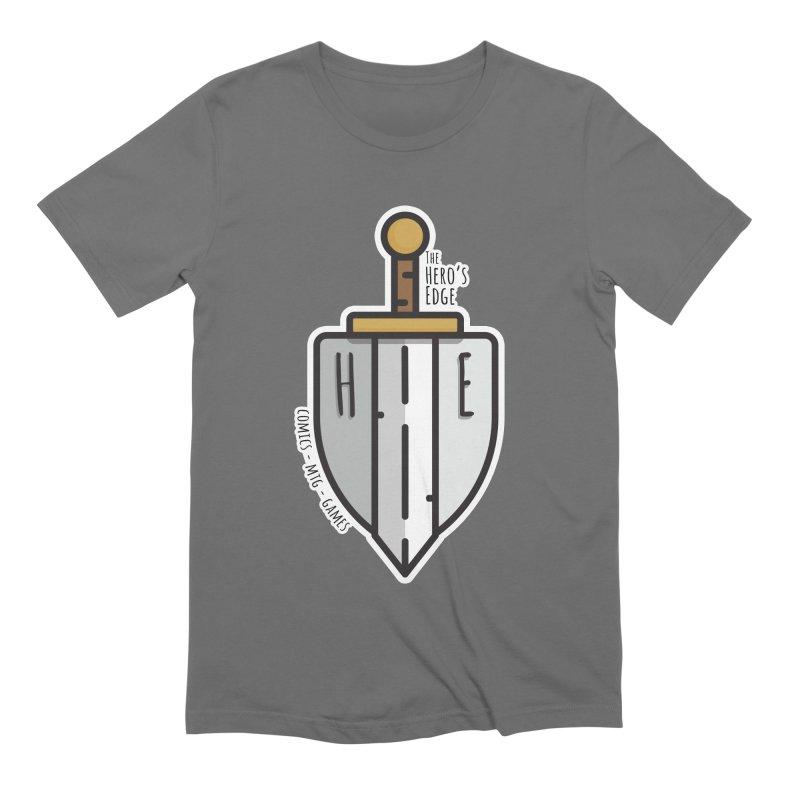 The Hero's Edge Sword & Shield Men's T-Shirt by The Hero's Edge