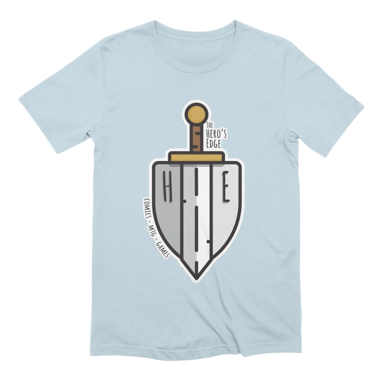 The Hero's Edge Sword & Shield Men's Extra Soft T-Shirt by The Hero's Edge