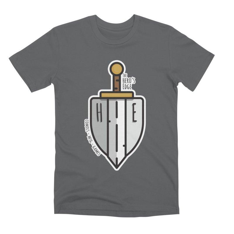 The Hero's Edge Sword & Shield Men's Premium T-Shirt by The Hero's Edge