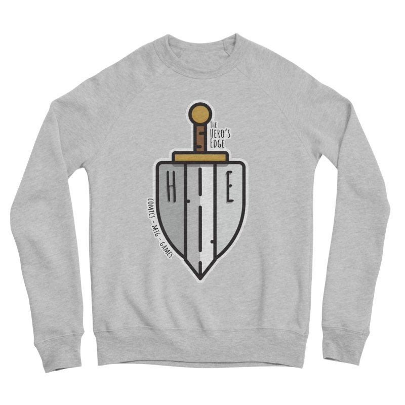 The Hero's Edge Sword & Shield Women's Sponge Fleece Sweatshirt by The Hero's Edge