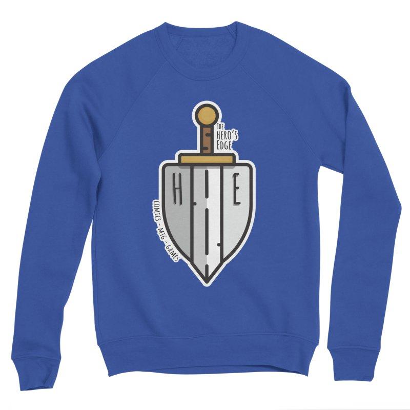 The Hero's Edge Sword & Shield Men's Sponge Fleece Sweatshirt by The Hero's Edge