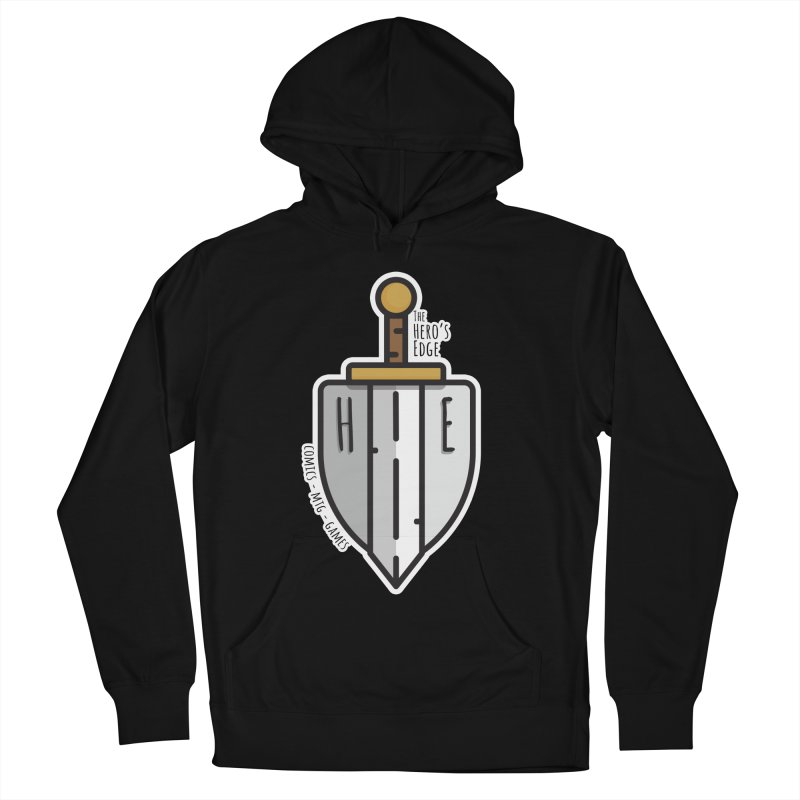 The Hero's Edge Sword & Shield Men's French Terry Pullover Hoody by The Hero's Edge