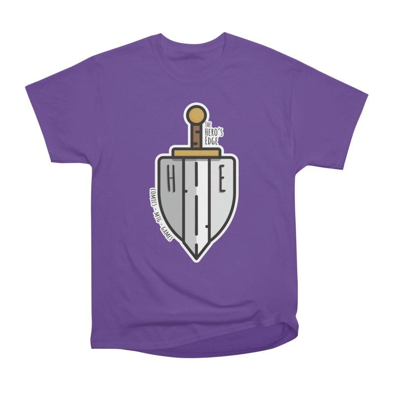 The Hero's Edge Sword & Shield Men's Heavyweight T-Shirt by The Hero's Edge