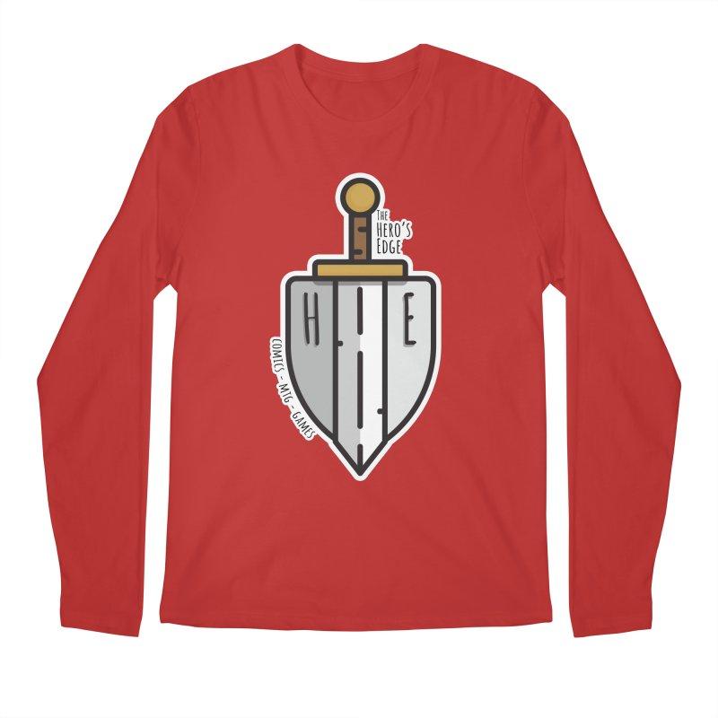 The Hero's Edge Sword & Shield Men's Regular Longsleeve T-Shirt by The Hero's Edge