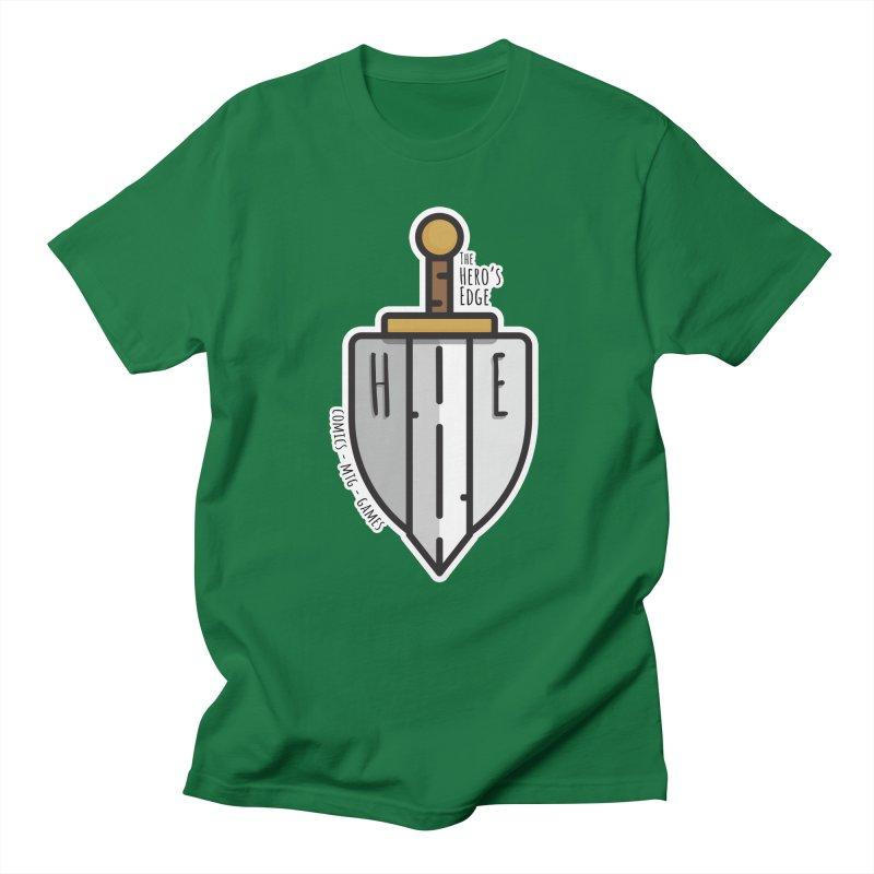 The Hero's Edge Sword & Shield Men's Regular T-Shirt by The Hero's Edge