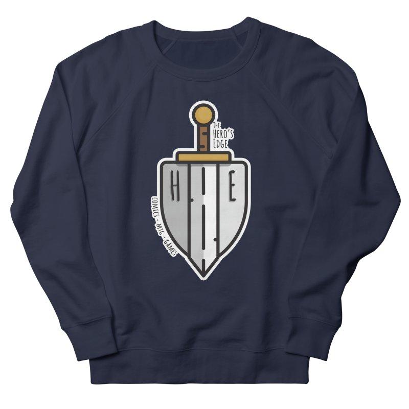 The Hero's Edge Sword & Shield Women's French Terry Sweatshirt by The Hero's Edge