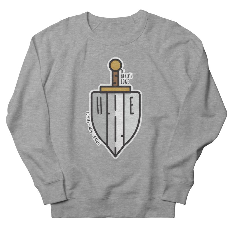 The Hero's Edge Sword & Shield Men's French Terry Sweatshirt by The Hero's Edge