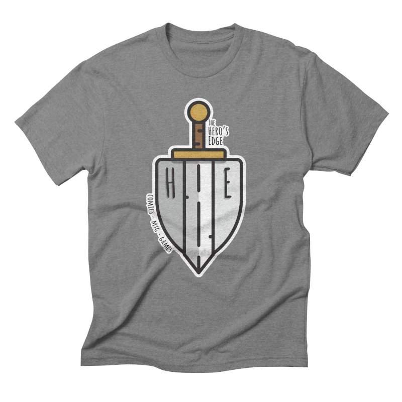The Hero's Edge Sword & Shield Men's Triblend T-Shirt by The Hero's Edge