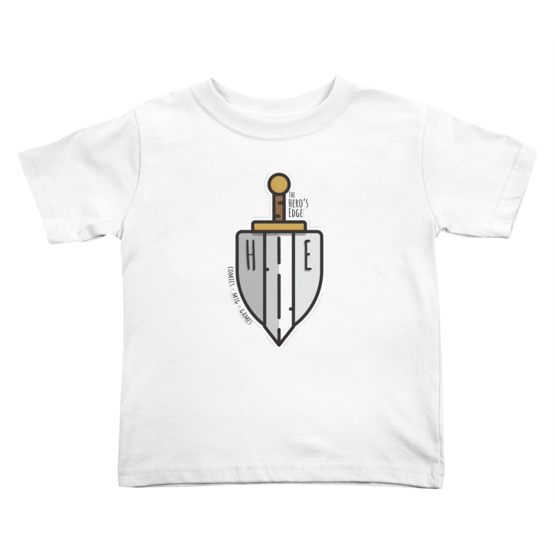 The Hero's Edge Sword & Shield Kids Toddler T-Shirt by The Hero's Edge
