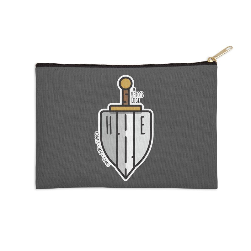 The Hero's Edge Sword & Shield Accessories Zip Pouch by The Hero's Edge