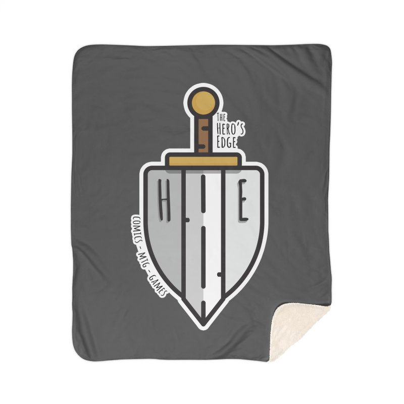 The Hero's Edge Sword & Shield Home Sherpa Blanket Blanket by The Hero's Edge