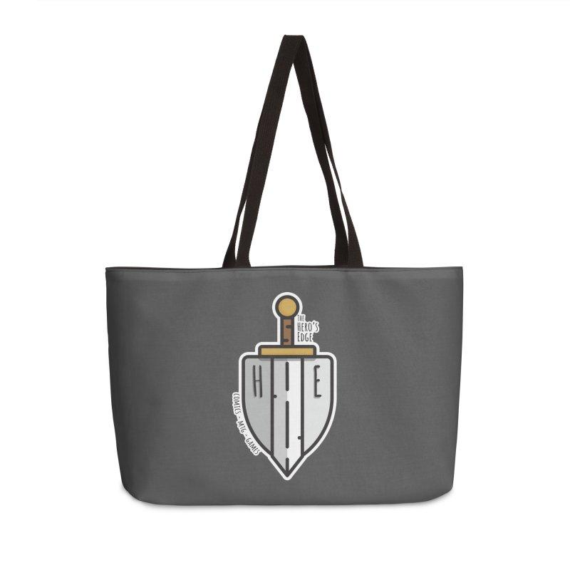 The Hero's Edge Sword & Shield Accessories Weekender Bag Bag by The Hero's Edge