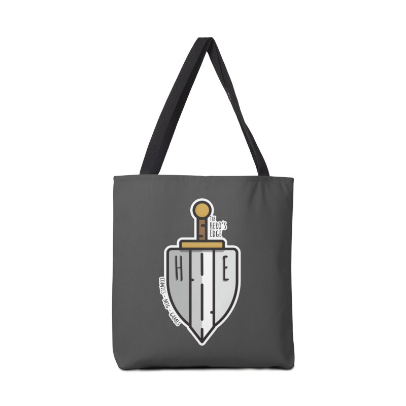 The Hero's Edge Sword & Shield Accessories Tote Bag Bag by The Hero's Edge
